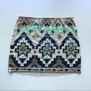 🔹EXPRESS — Sequin Skirt